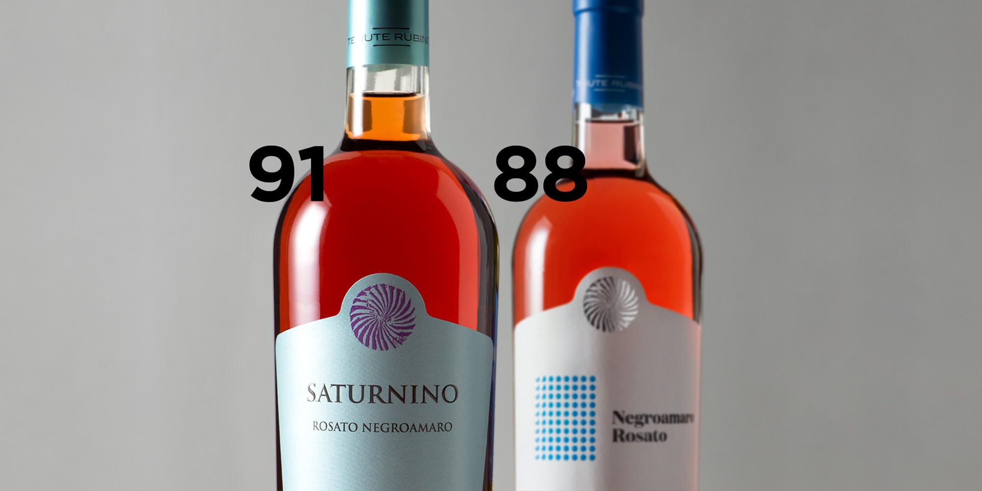 Saturnino e Negroamaro Rosato - Vinoteca Numero Primo