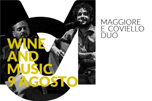 Maggiore e Coviello duo - Vinoteca Numero Primo | Brindisi