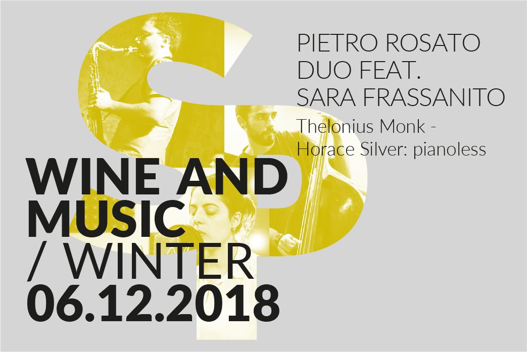 Pietro Rosato Duo feat. Sara Frassanto - Vinoteca Numero Primo - Brindisi